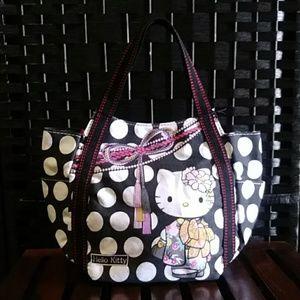 Hello Kitty Amonnlisa Japan Sanrio Tote Bag